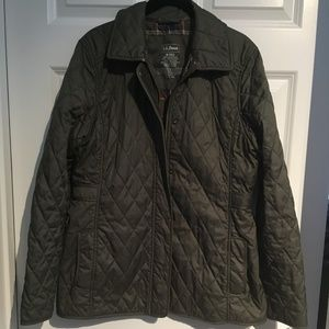 Quilted LL Bean Jacket